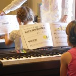 Group piano lessons